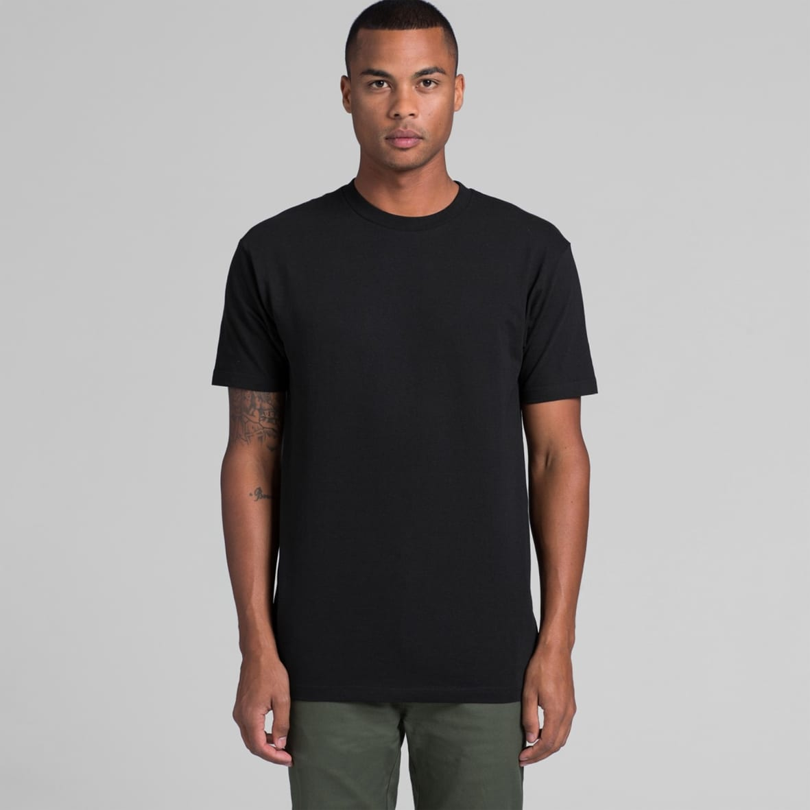 AS 5050 Men's block tee