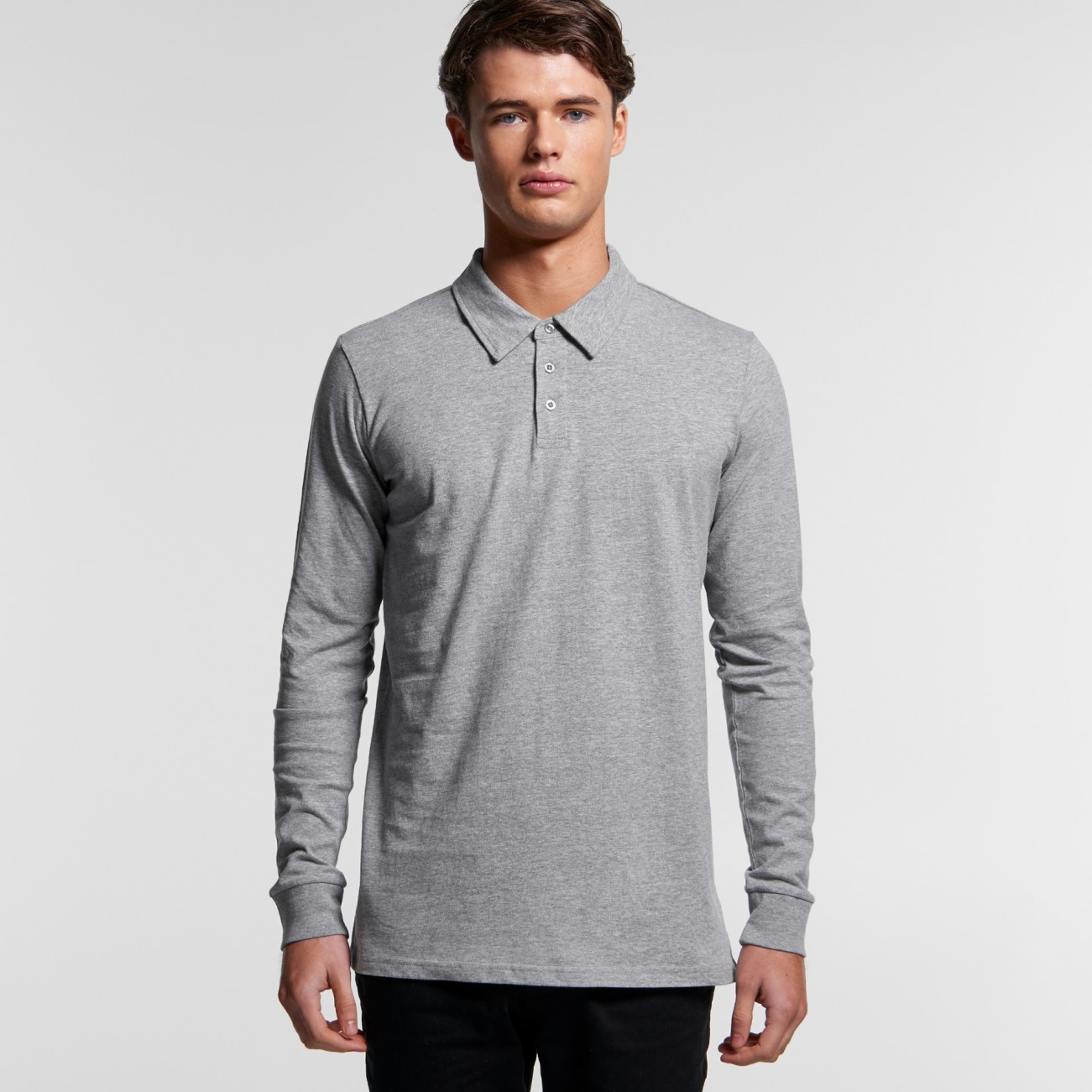 AS 5404 L/S Chad Polo