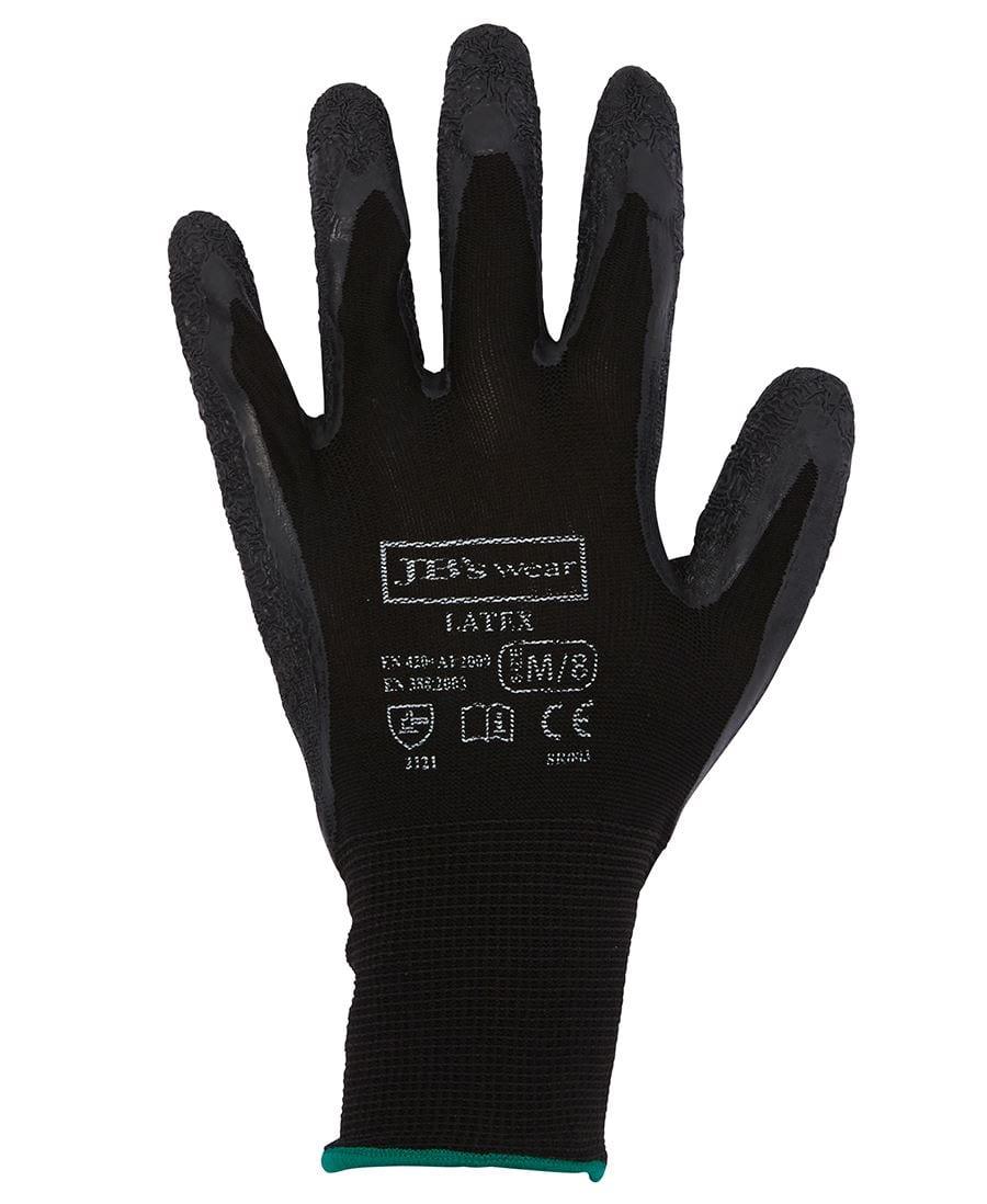 8R003 Black Latex Glove