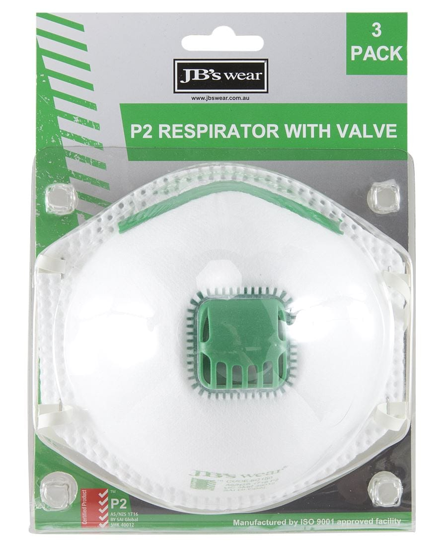 8C15 Blister P2 Respirator With Valve