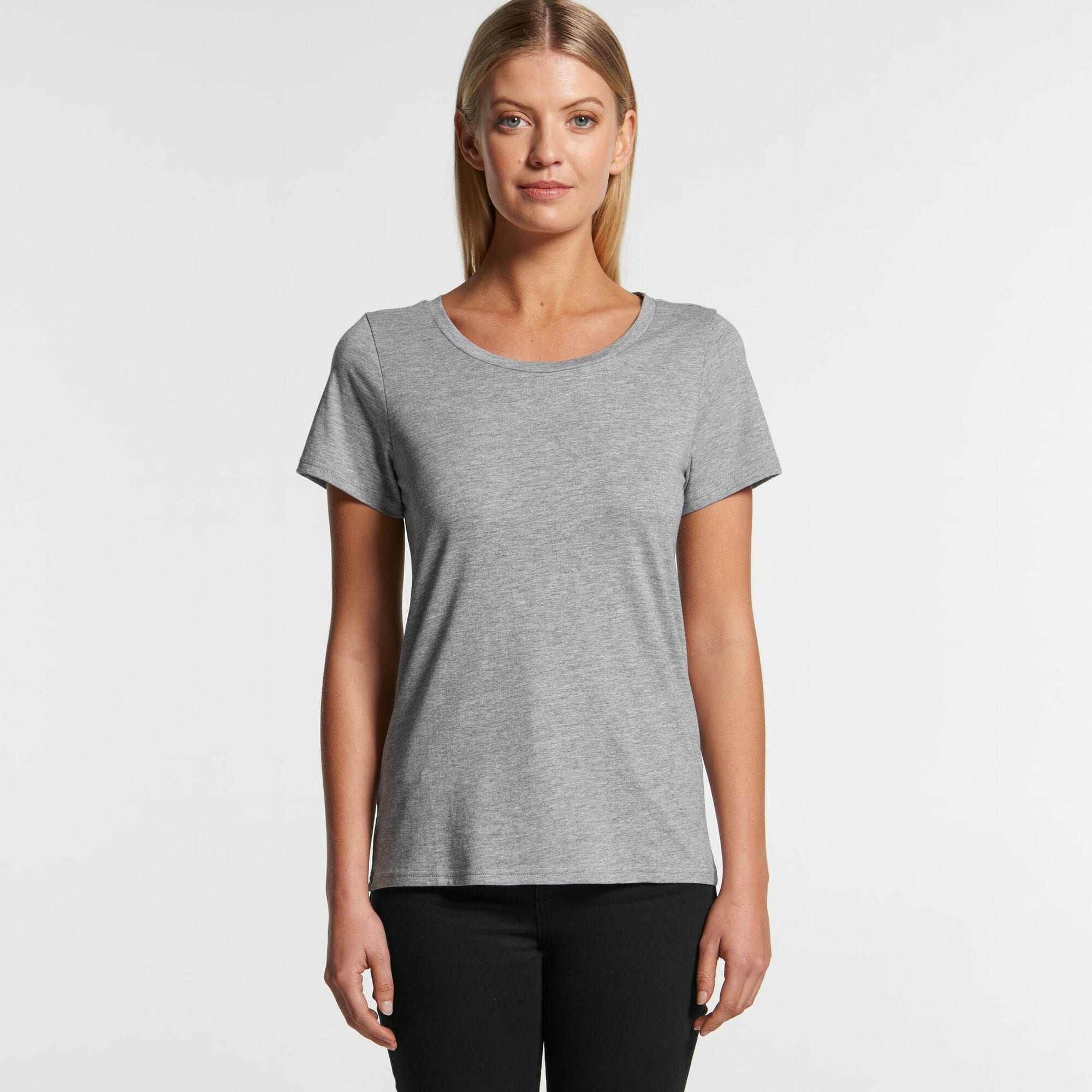 AS 4011 Womens Shallow Scoop Tee