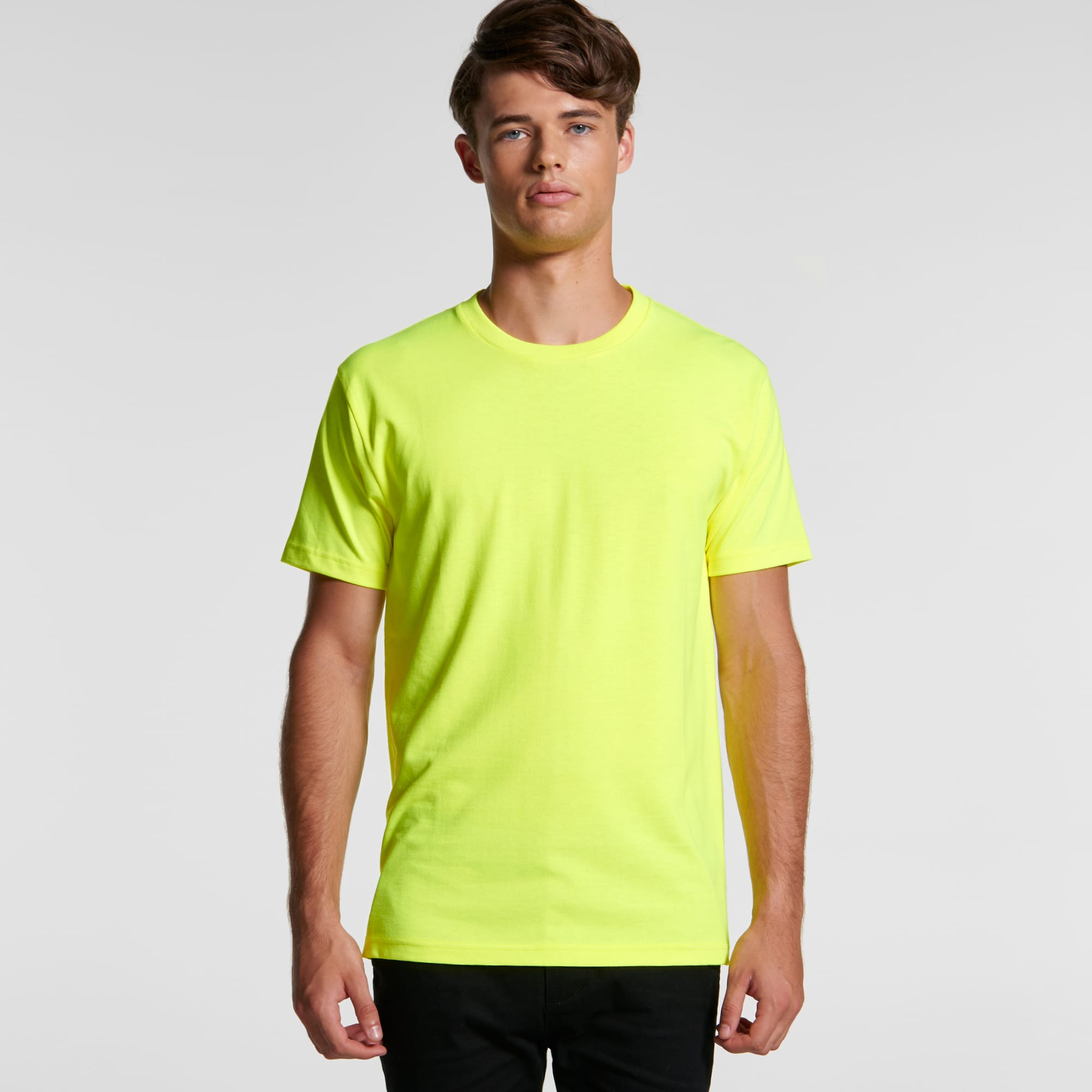 AS 5050F Mens Block Tee (Safety Colours)
